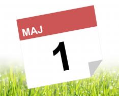 1. maj kalender
