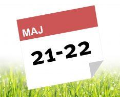 21-22 maj